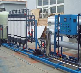 内蒙古水处理中水回用处理系统